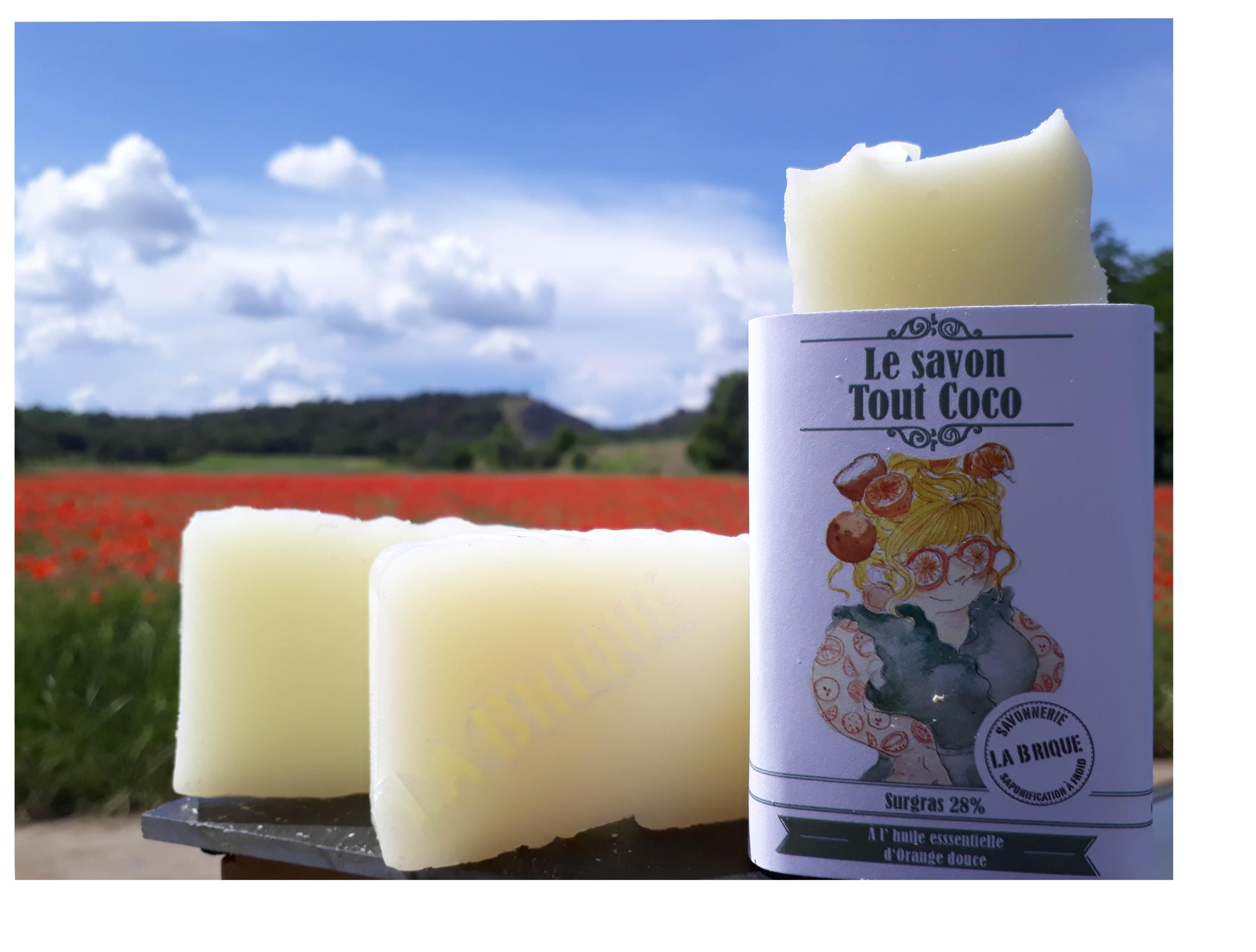 Le savon Tout Coco - 100g