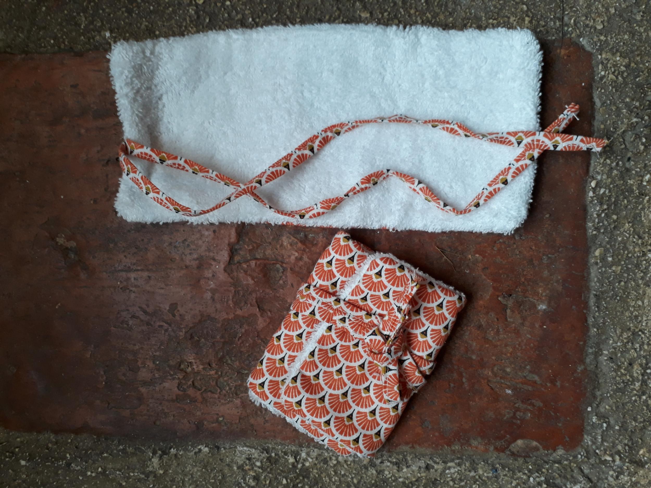 Le GRAND peignoir à savon - Taille M - 14 x 25cm (format Savon de Claire / Tout Coco / Karité Kid)