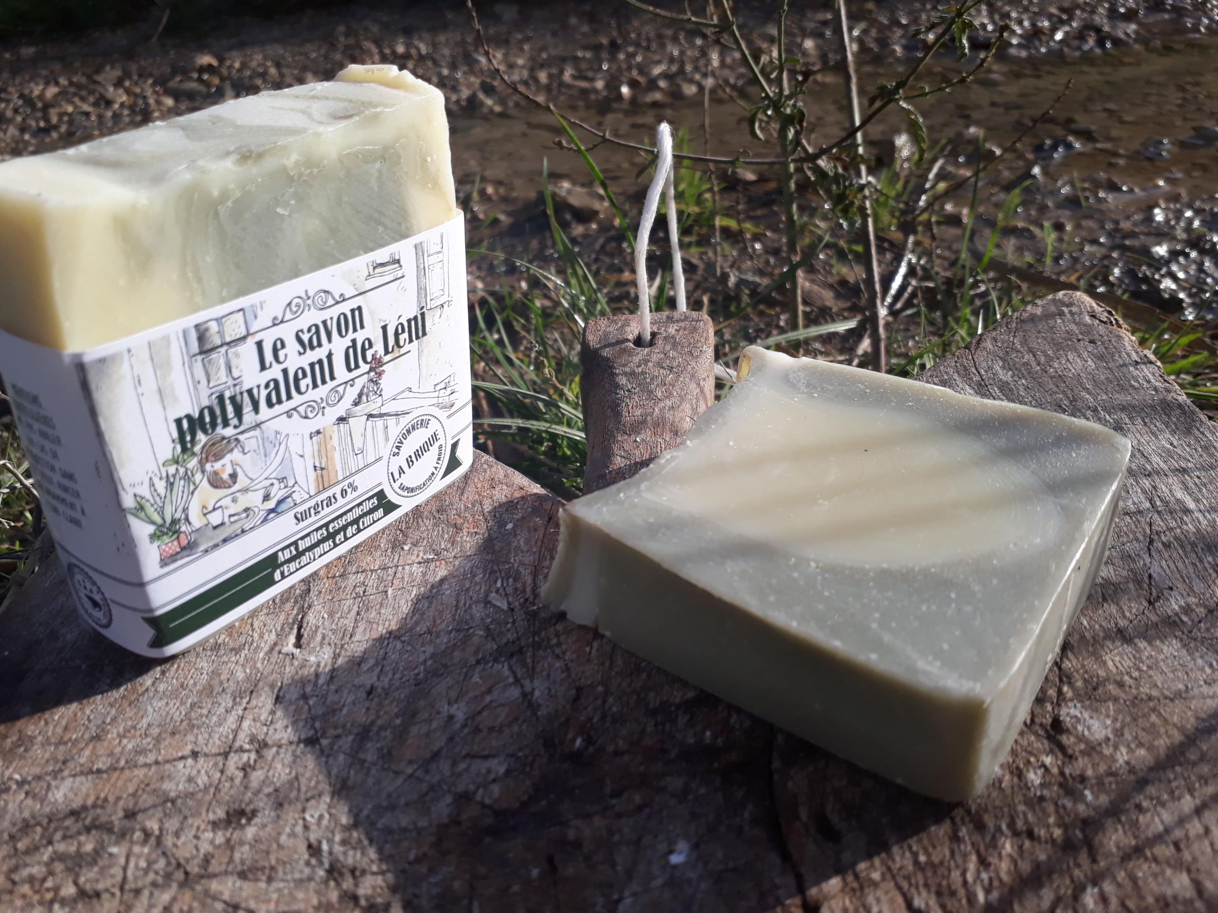 Le savon polyvalent de Léni - 100g