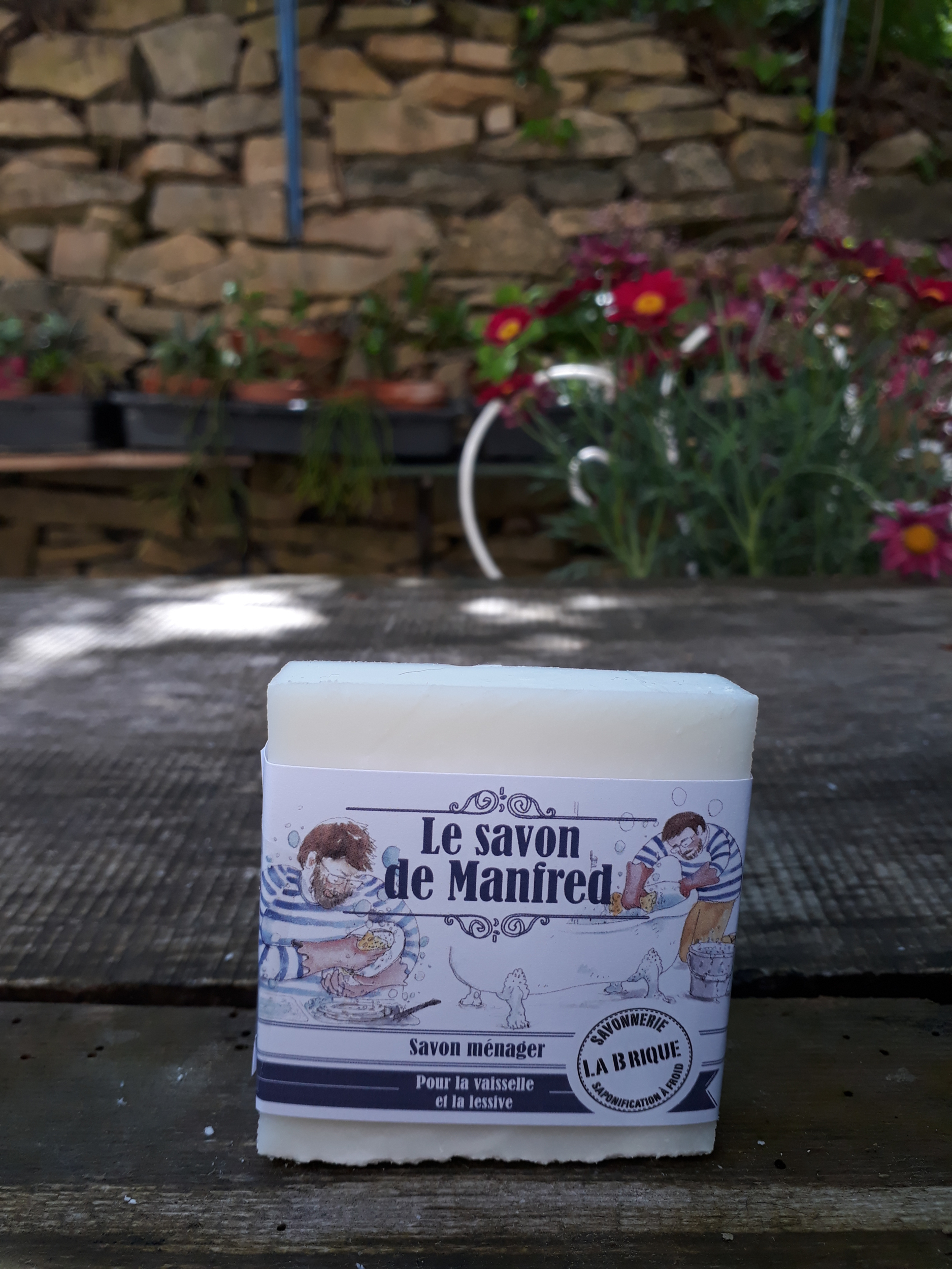 Le savon ménager de Manfred