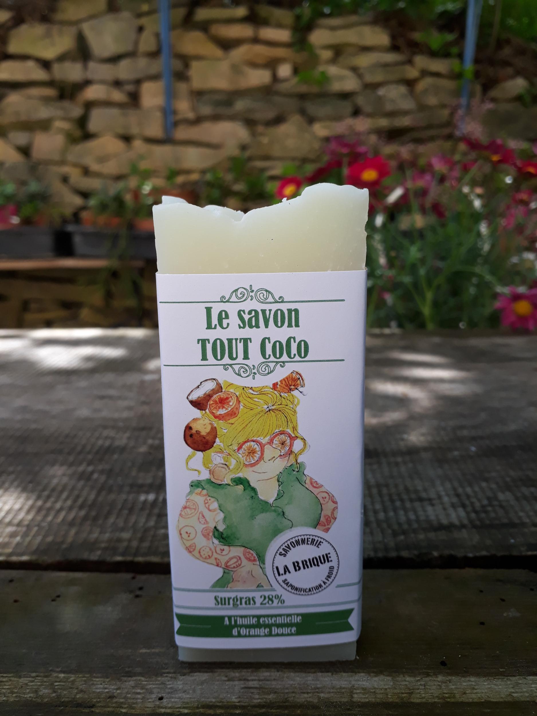 Le savon Tout Coco - 100g ou 200g