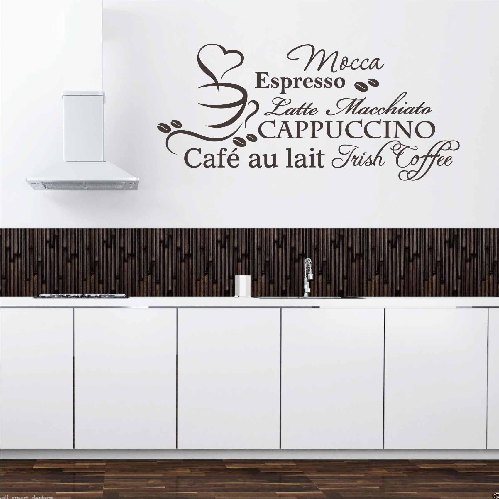 Stickers Cuisine Café - Autocollant muraux et deco