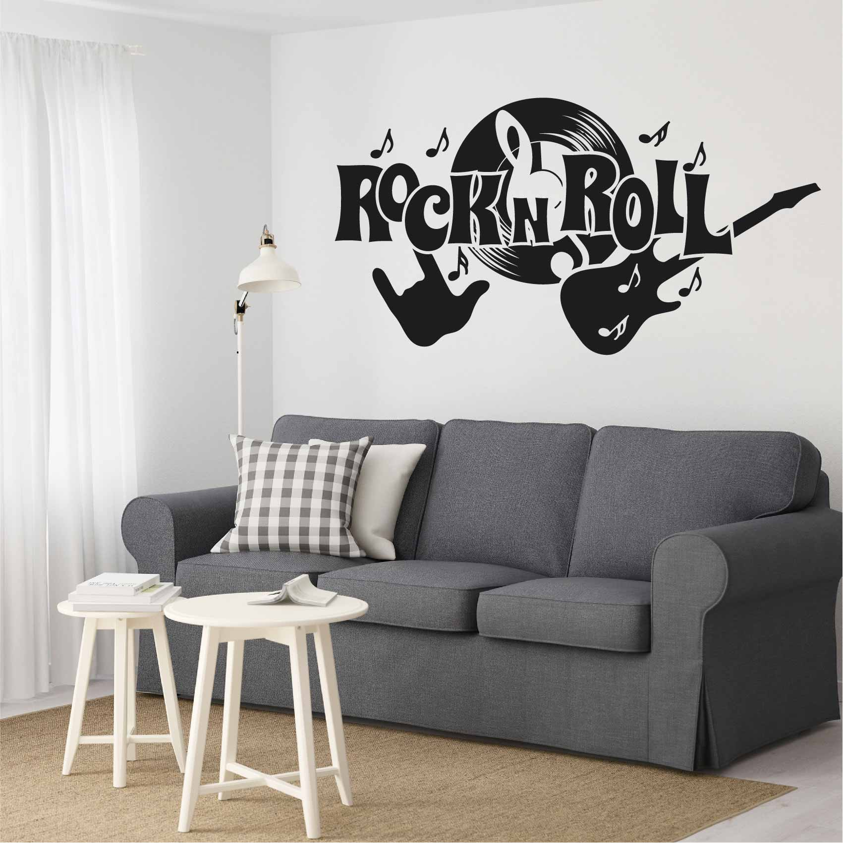 Stickers Rock n Roll - Autocollant muraux et deco