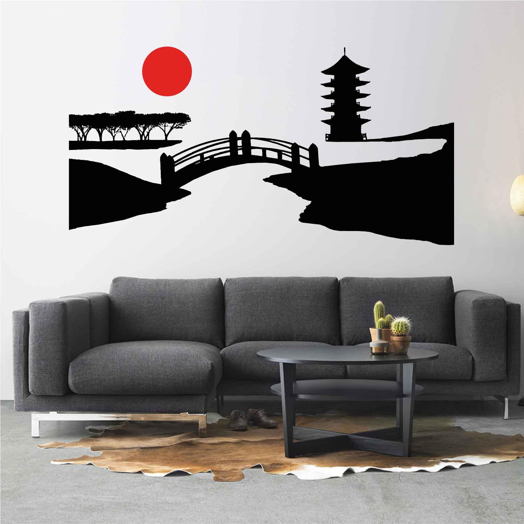 Stickers Japon - Stickers muraux Japonais salon chambre