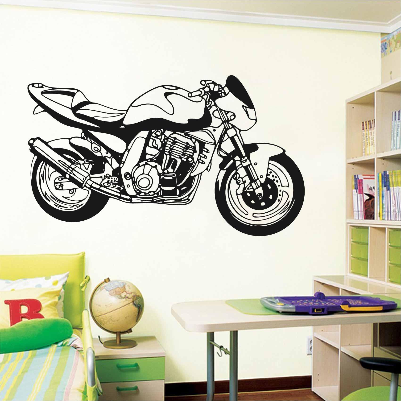 Stickers Moto Course