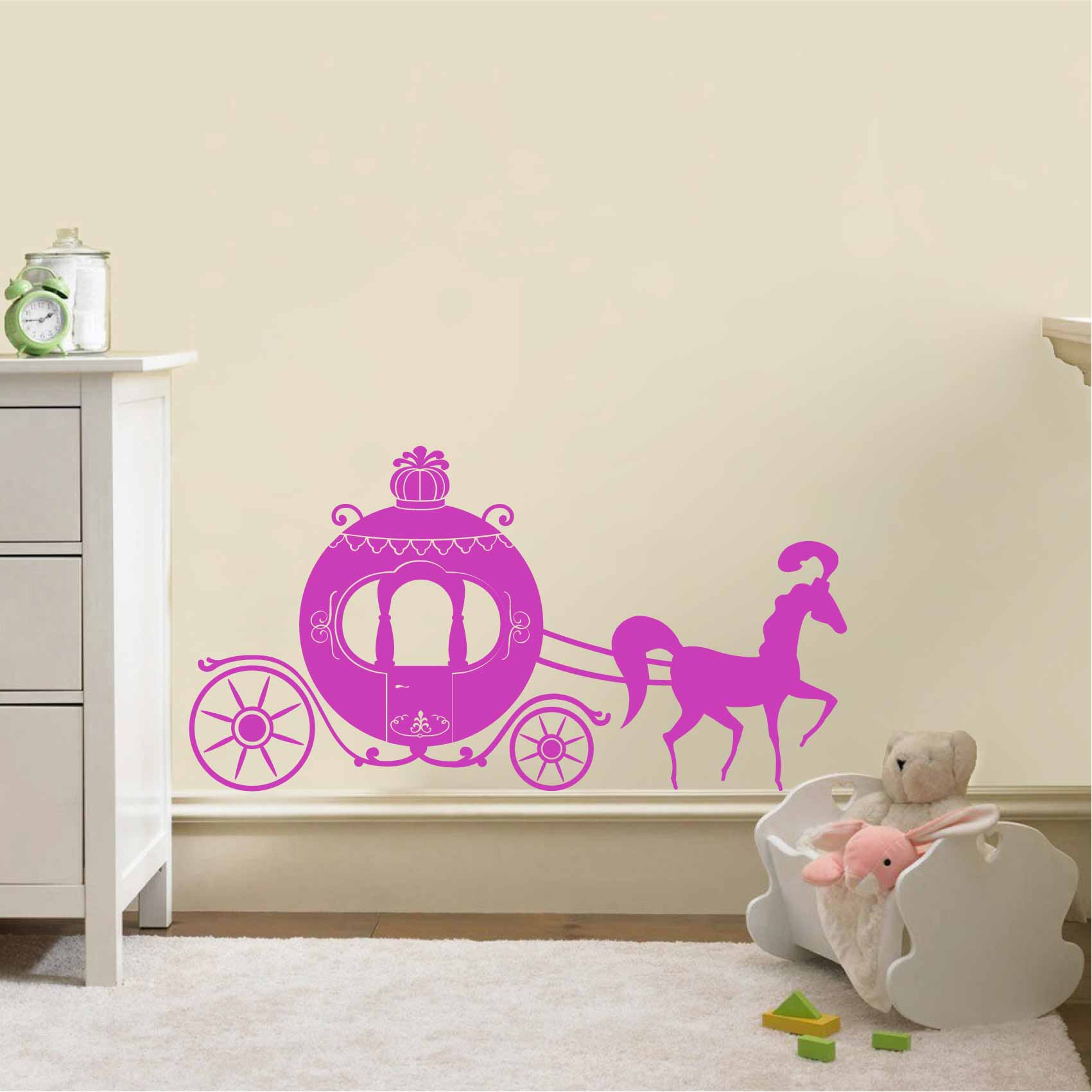 Stickers Carrosse de Princesse