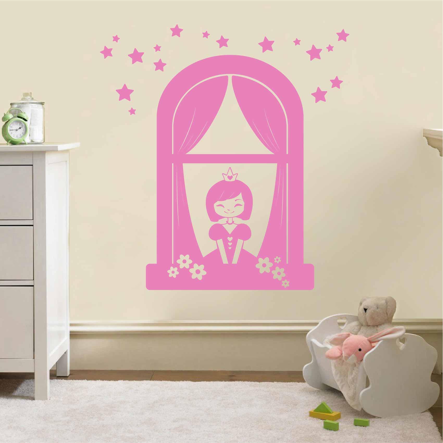 Stickers Pour Fenetre Chambre stickers princesse fenetre