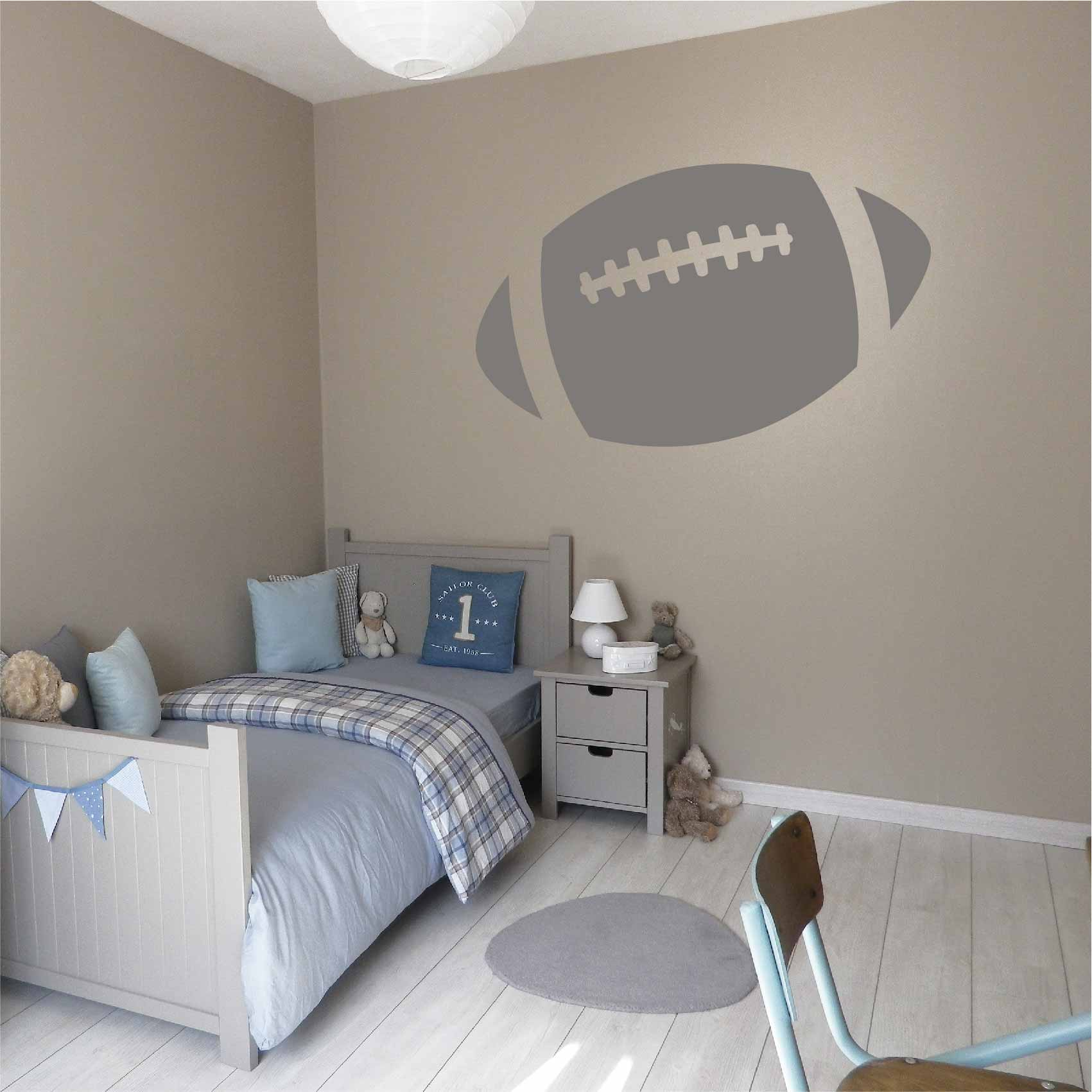 Stickers Ballon Football Americain - Autocollant muraux et deco