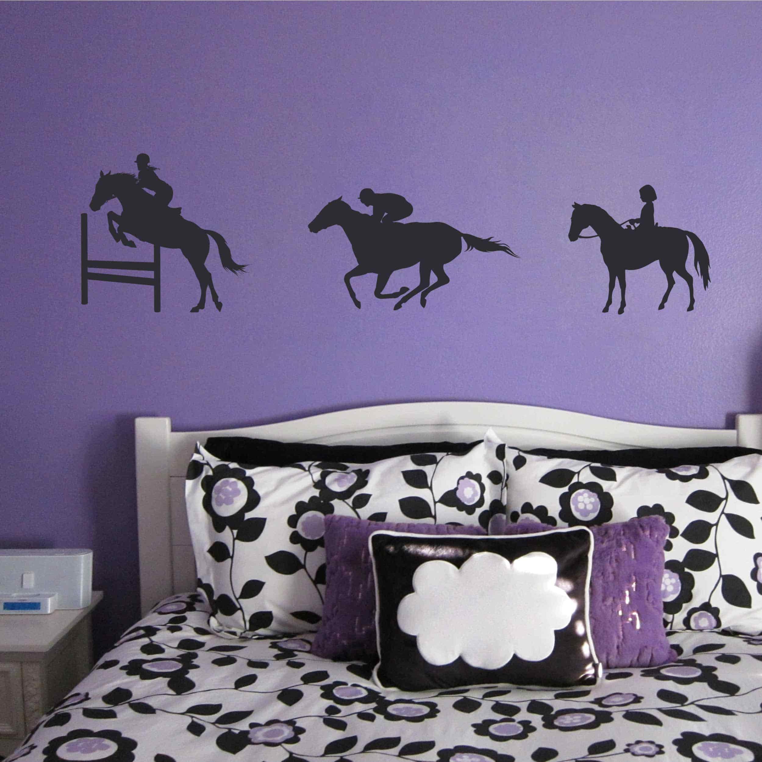 Stickers Chevaux équitation - Autocollant muraux et deco