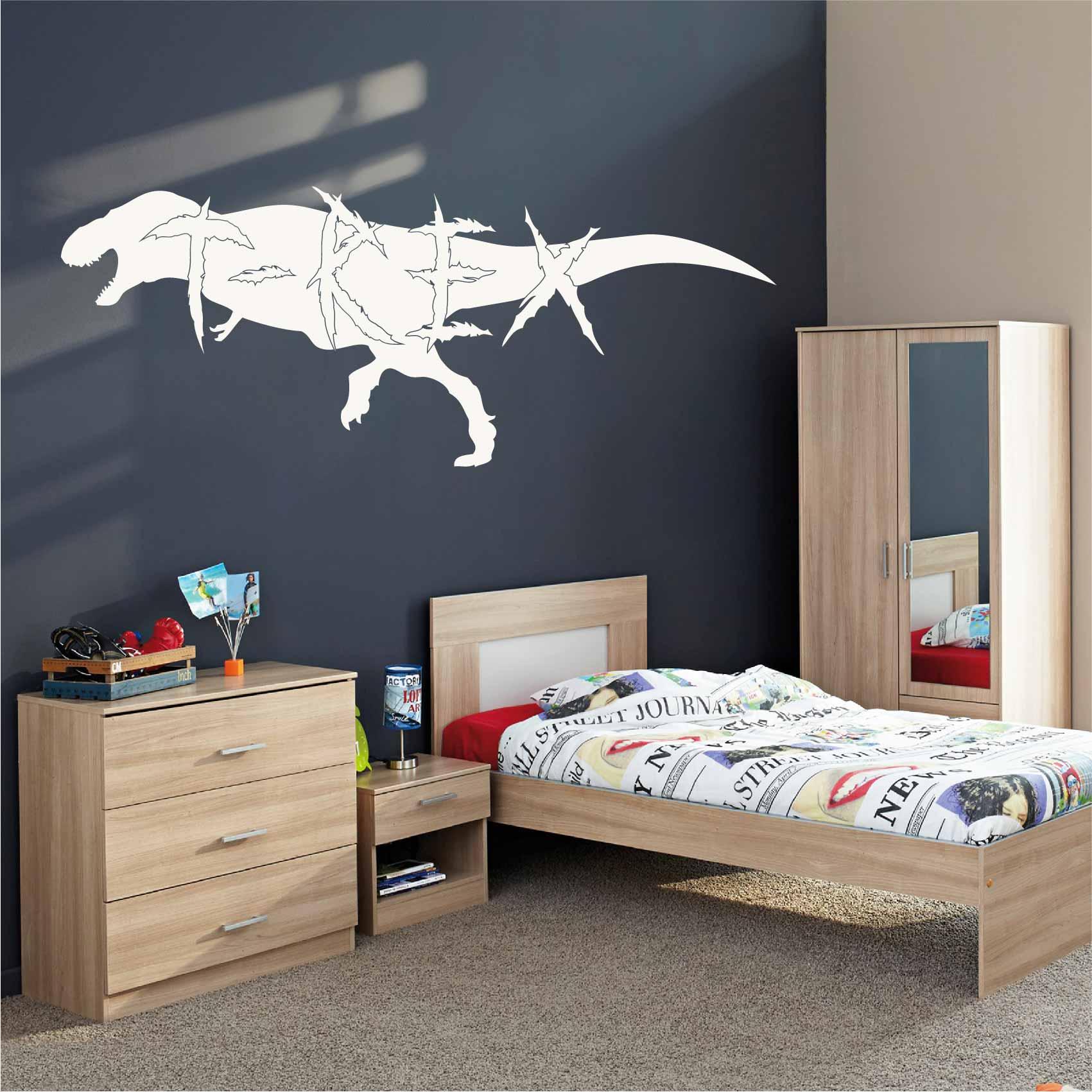 Stickers muraux Dinosaure - Autocollant muraux et deco