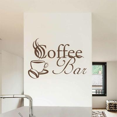 Stickers Coffee bar tasse