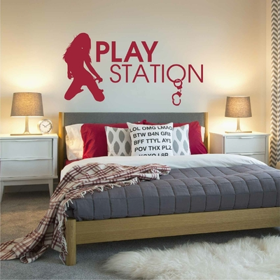 Stickers Chambre Play Station