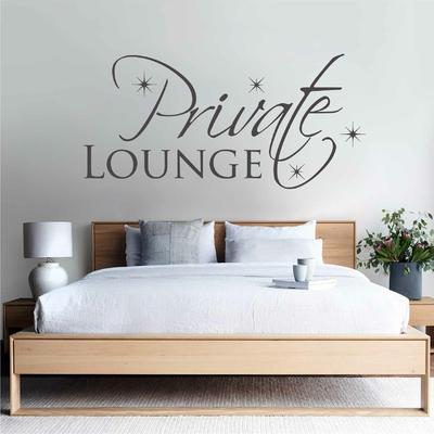 Stickers Chambre Private Lounge