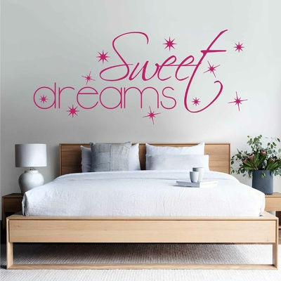 Stickers Chambre Sweet Dreams