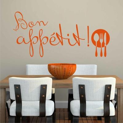 Stickers Bon Appetit Couverts