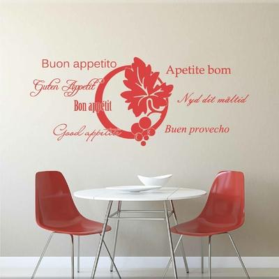 Stickers Bon Appetit Langues