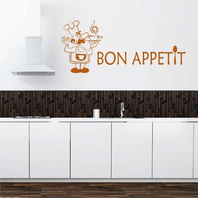 Stickers Cuisine Bon Appetit