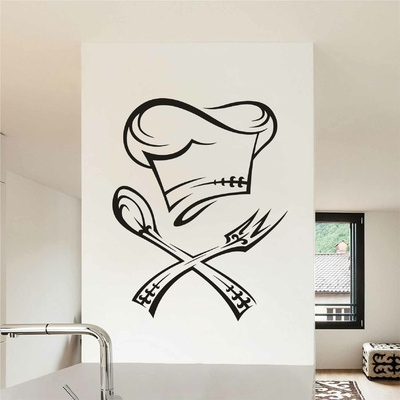 Stickers Cuisine Couverts