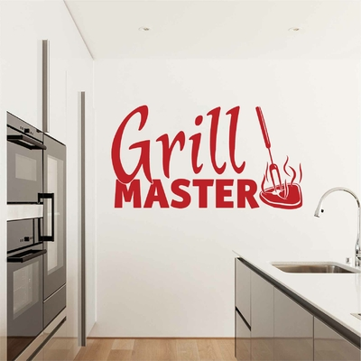 Stickers Cuisine Grill Master