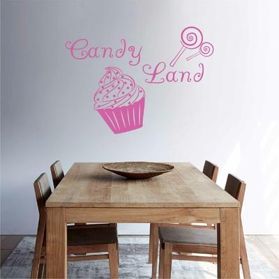 Stickers Candy Land CupCake