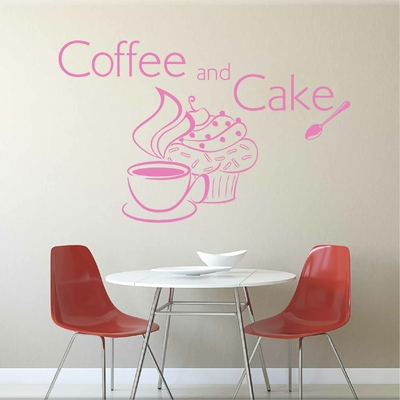 Stickers Coffee and CupCake