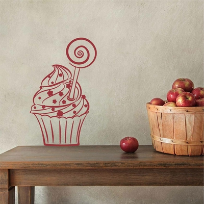 Stickers CupCake sucette