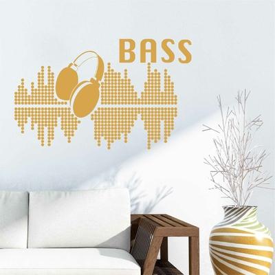 Stickers Bass Musique
