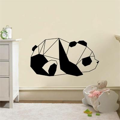 Stickers Panda Origami Mignon