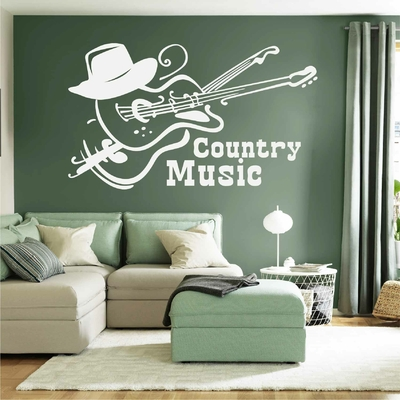 Stickers Country Music