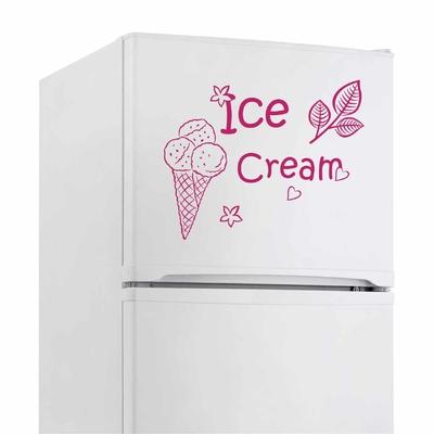 Stickers Frigo Glace ice Cream