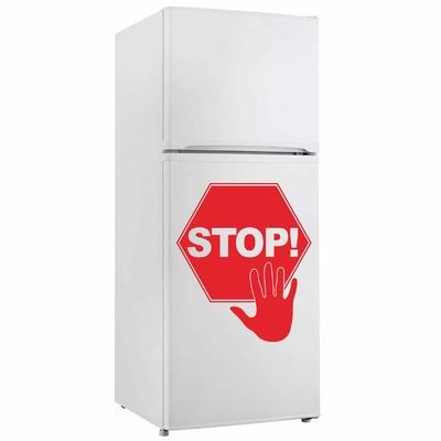 Stickers Frigo Stop