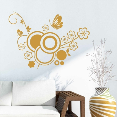 Stickers Arabesque Papillon