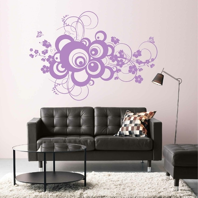 Stickers Arabesque Papillons