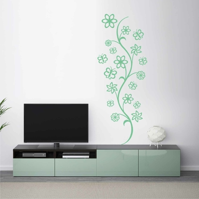 Stickers Arabesque Plante
