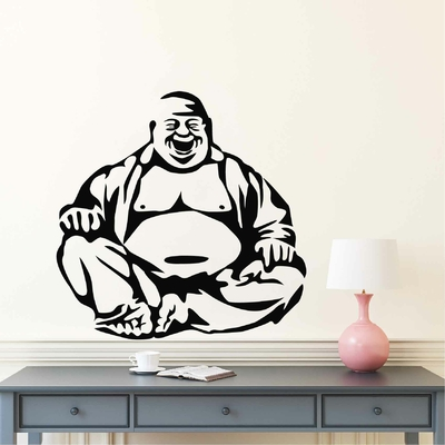 Stickers Bouddha Rieur
