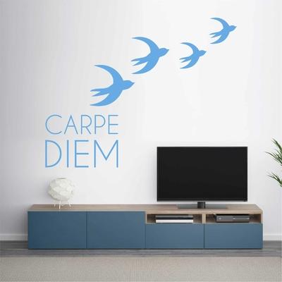 Stickers Carpe Diem Oiseaux