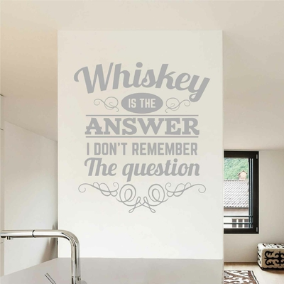 Stickers Citation Whisky