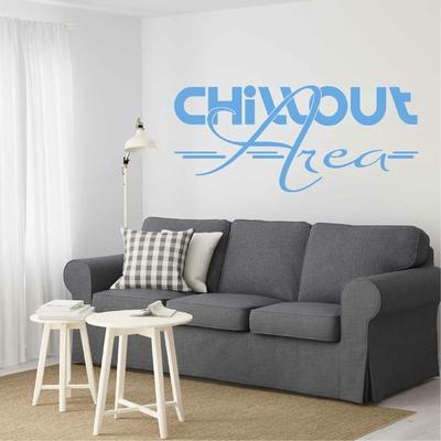 Stickers Chillout Area Salon