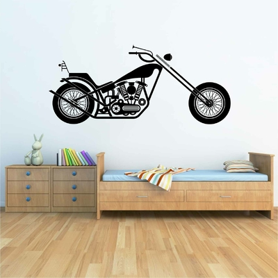 Stickers Moto Chopper Vintage