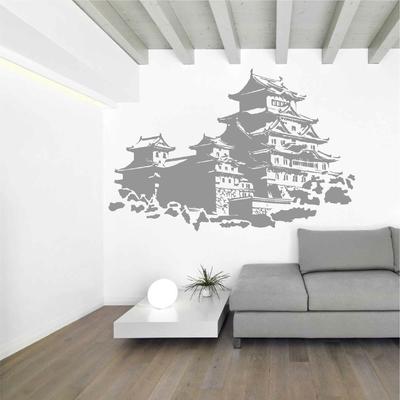 Stickers Chateau Japonais