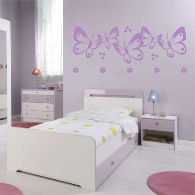 Stickers Papillon chambre fille