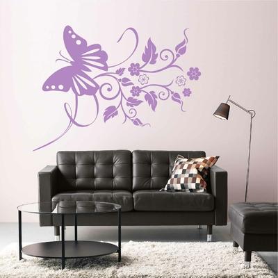 Stickers Papillon Design