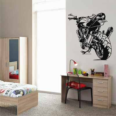 STICKERS CHAMBRE ADO - Stickers Moto et Voiture - Planete Stickers
