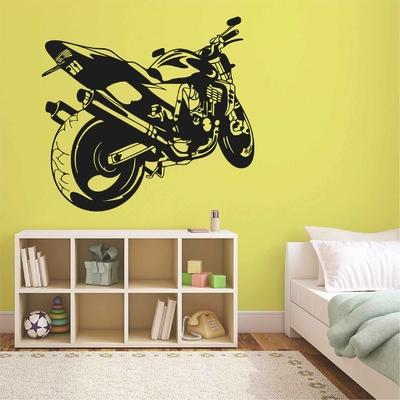 Stickers deco Moto