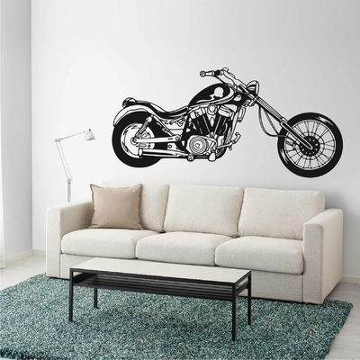 Stickers Moto Chopper