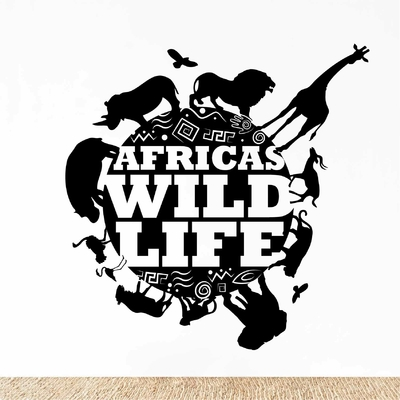 Stickers Animaux Afrique