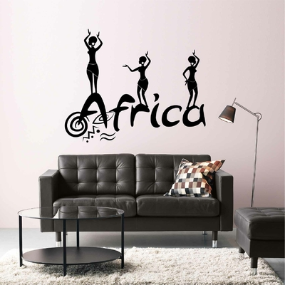 Stickers mural Africa