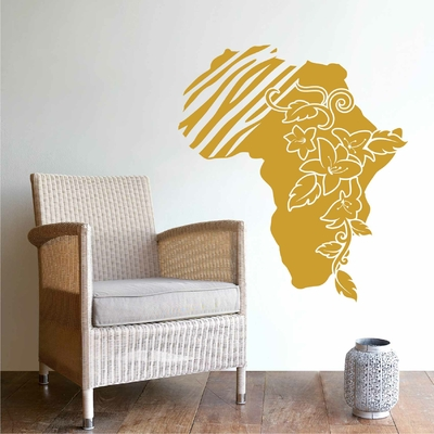 Stickers mural Afrique