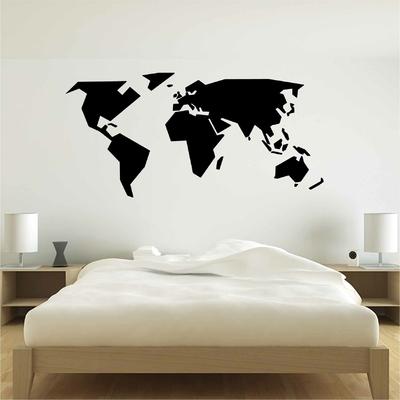 Stickers Carte du Monde design