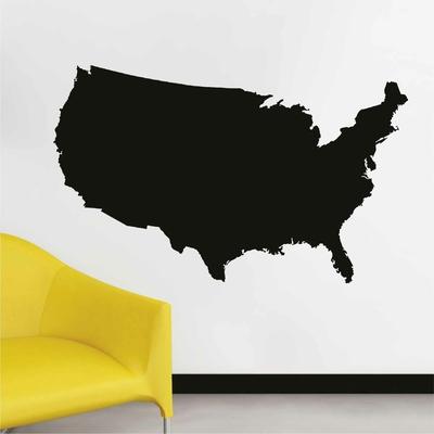 Stickers Carte Amerique